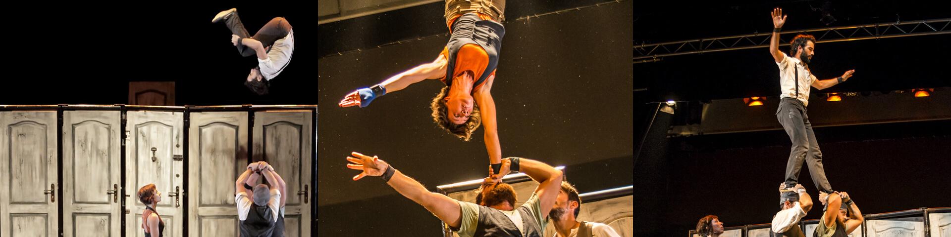 Espectáculo Emportats Compañía de circo La Trócola Circ