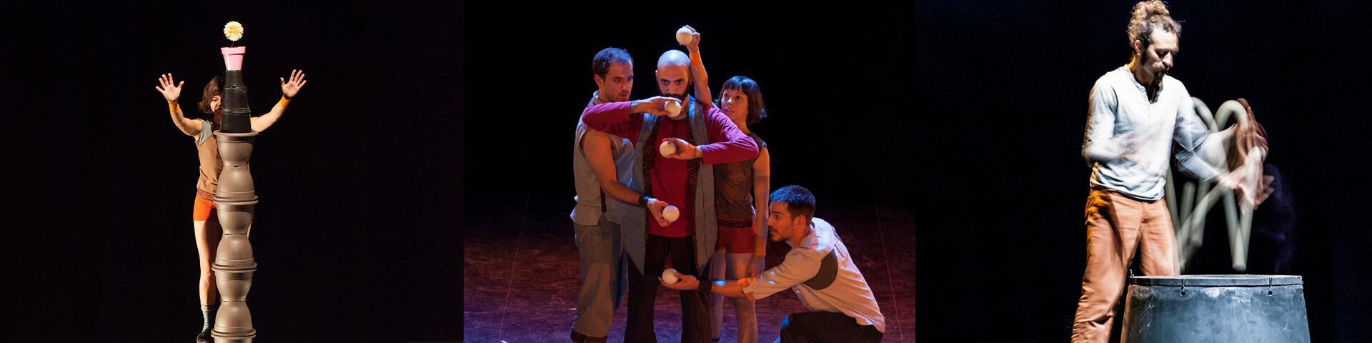 Espectacle Potted. Companyia de circ La Trócola circ